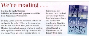 Review from The Bath Priory Food Magazine