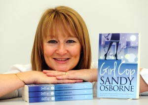 Sandy Osborne, Avon and Somerset Police women turned author with her book Girl Cop